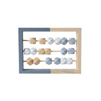 Children Wooden 3-5 Rows Abacus Educational Toy Kids Early Learning Educational Toy with Geometry Beads;Children Wooden 3-5 Rows Abacus Early Educational Toy with Geometry Beads