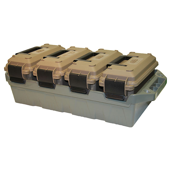 MTM MOLDED PRODUCTS 4-Can Ammo Crate