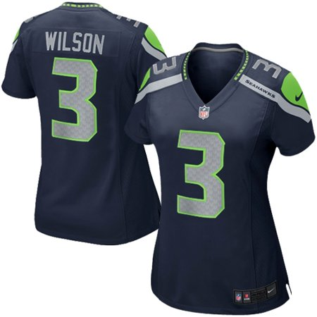 finest selection 0b5d0 077e1 Russell Wilson Seattle Seahawks Nike Girls Youth Replica Game Jersey -  College Navy