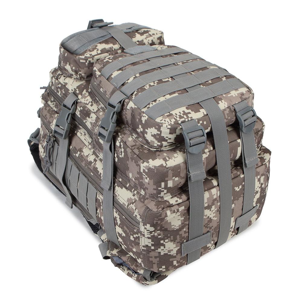 *Bug Out Bag Lockable Digital Camo Color Gym Bag