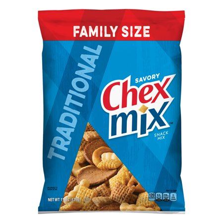 Chex Mix Traditional Savory Snack Mix, 15 oz - Halloween Snack For School
