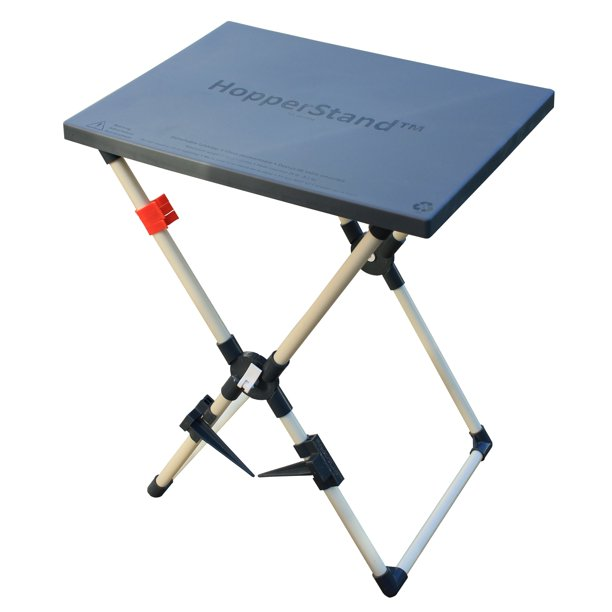HopperStand Multi-Purpose Utility Table and Universal Bag Holder
