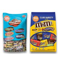 Chocolate Mini Pack - M&M, Mars Candies, Snickers, Twix More Perfect For All Ocassions Halloweeen, Back to school, Thanksgiving, Christmas, New Years,Valentines day