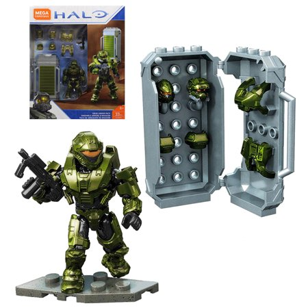 Siege Armor Pack Halo Mega Construx Set 33 pcs. (Halo Reach Best Sniper Armor)