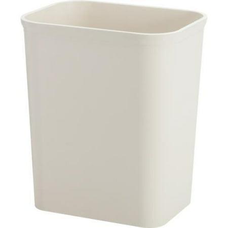 Hapco Fire Retardant 8 Quart UL Approved Wastebasket - Plastic - Beige