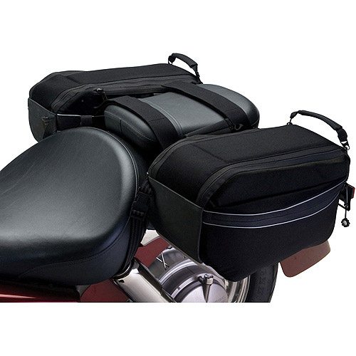 Classic Accessories Motorcycle Saddle Storage Bags