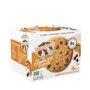 Lenny & Larry's, The Complete Cookie, Peanut Butter Chocolate Chip, 6 ct