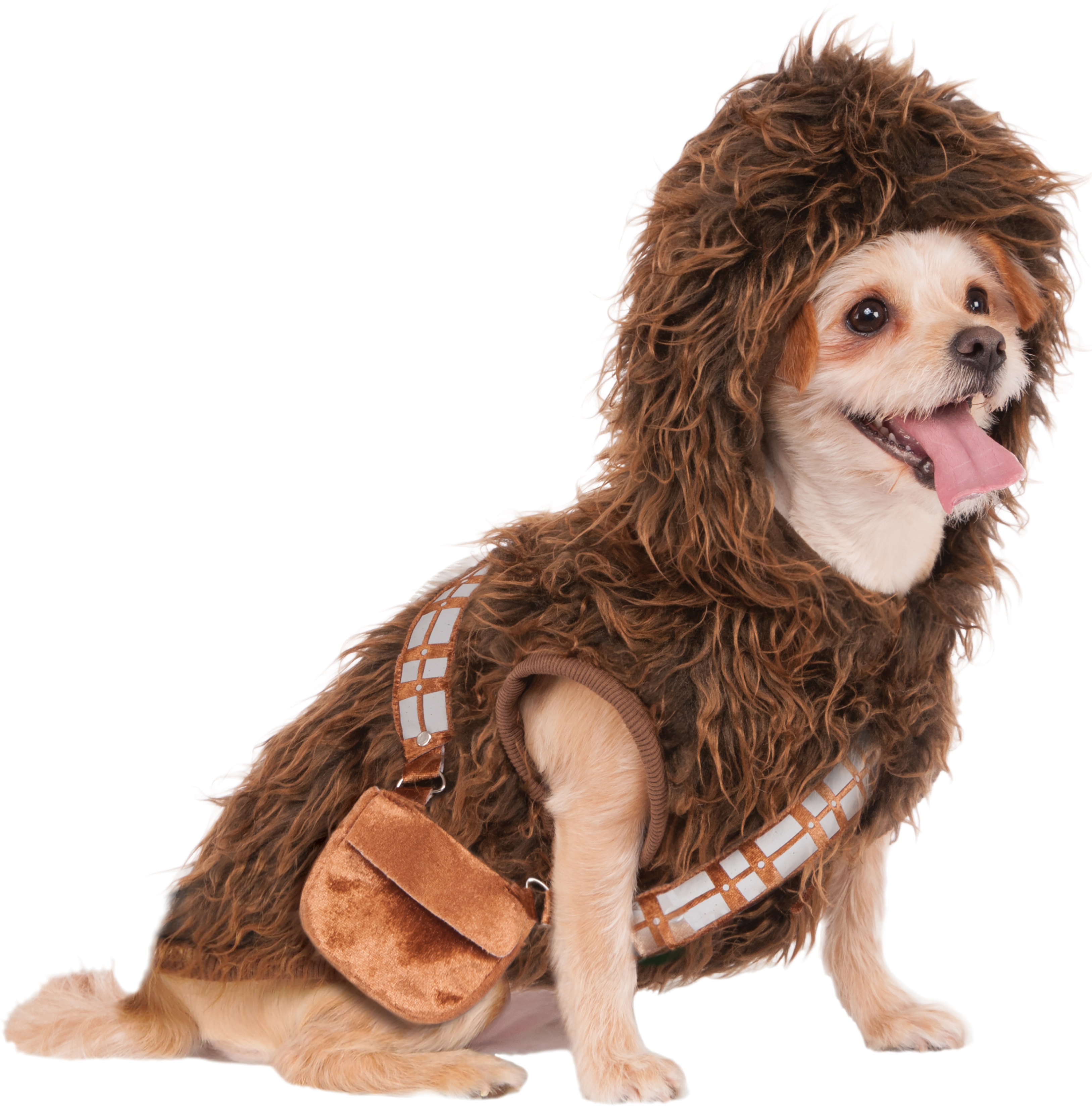 Rubieu0027s Chewbacca Hoodie Pet Costume - Medium  sc 1 st  Walmart : yoda dog costume pug  - Germanpascual.Com