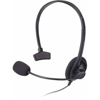 Insignia - Wired Gaming Chat Headset for Xbox 360 - Black, Refurbished