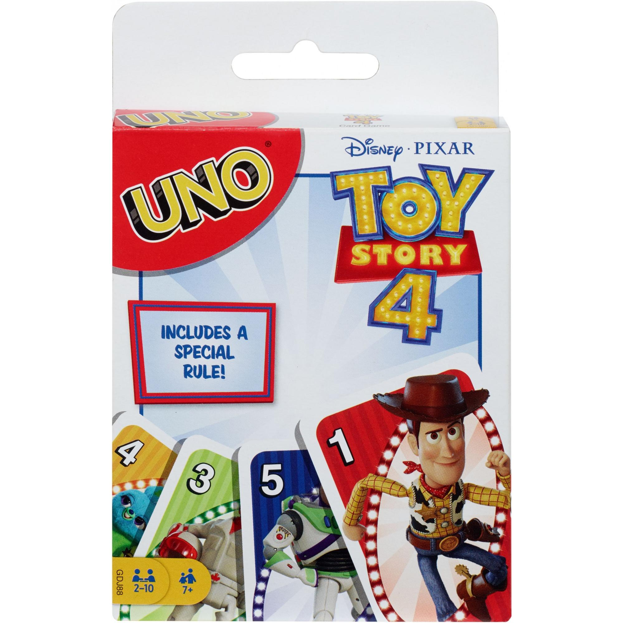 UNO Pixar 25th Anniversary Card Game with 112 Cards /& Instructions in Storage Tin for Players 7 Years /& Older Family /& Adult Game Night Gift for Kid