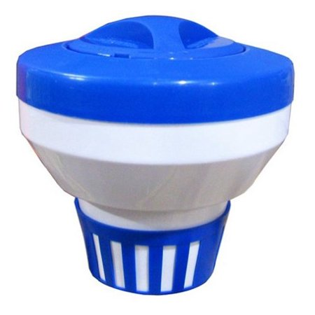 Floating 1 or 3 chlorine tablet dispenser for swimming pool for use with 3 or 1 chlorine or for Chlorine or bromine for swimming pools