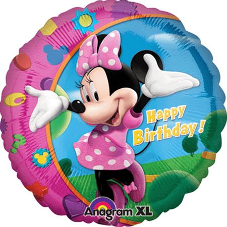 Disney Minnie Mouse Happy Birthday Foil Balloon 18