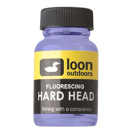 Fluorescing Hard Head, Thick head cement By Loon Outdoors Ship from US