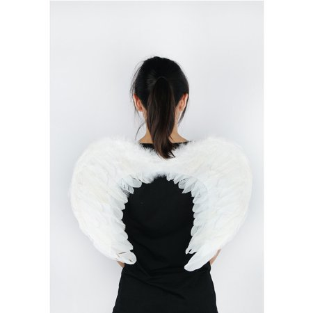 Angel Feather Wings Costume for Christmas/Halloween Party by Dazone - Womens Dark Angel Costume