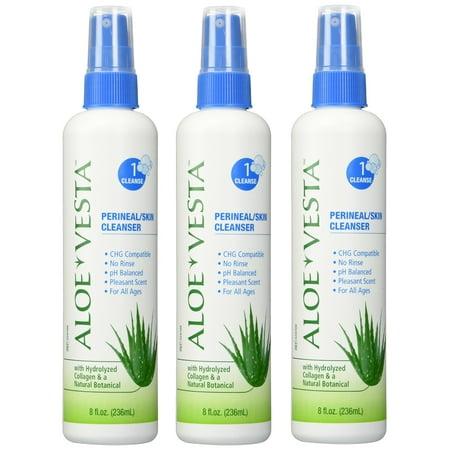 Aloe Vesta Perineal Skin Cleanser (Aloe Vesta® Perineal/Skin Cleanser , 8 oz Bottle - Pack of 3 )