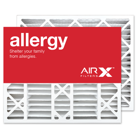 airx filters allergy 20x25x6 air filter merv 11 replacement for ...