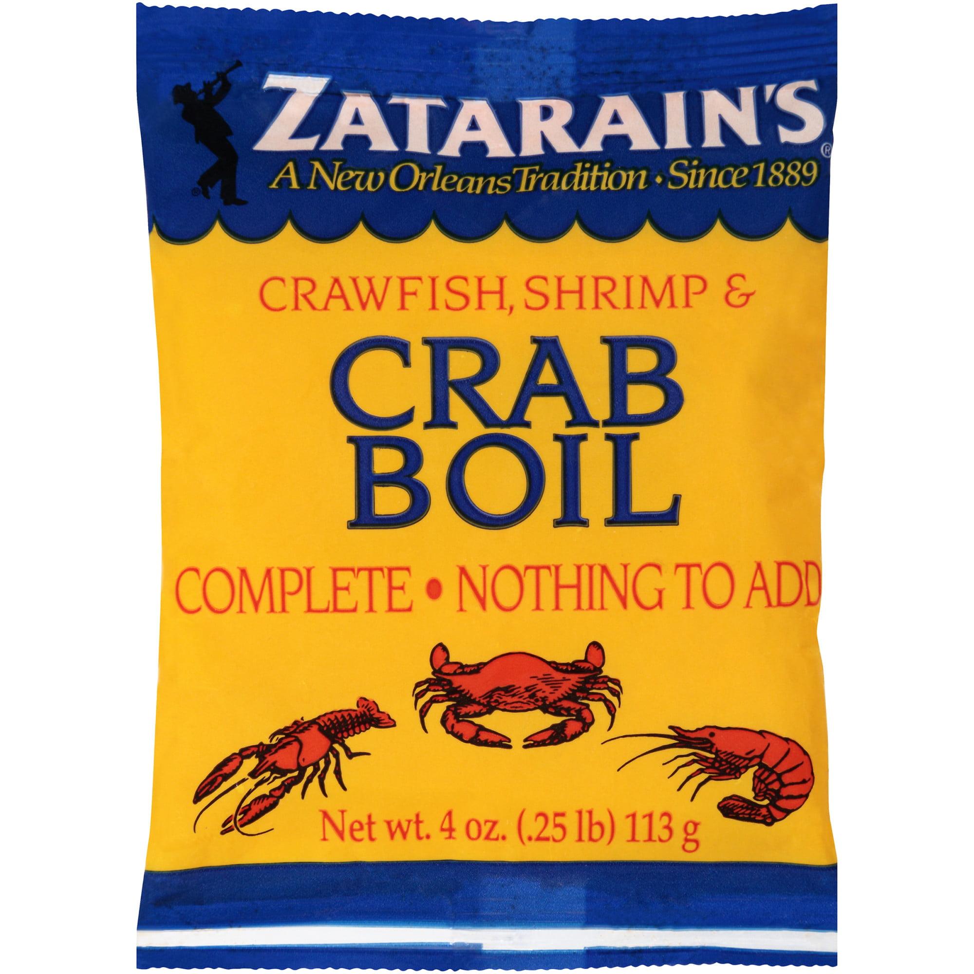 Zatarain's Preseasoned Crab Boil, 4 oz