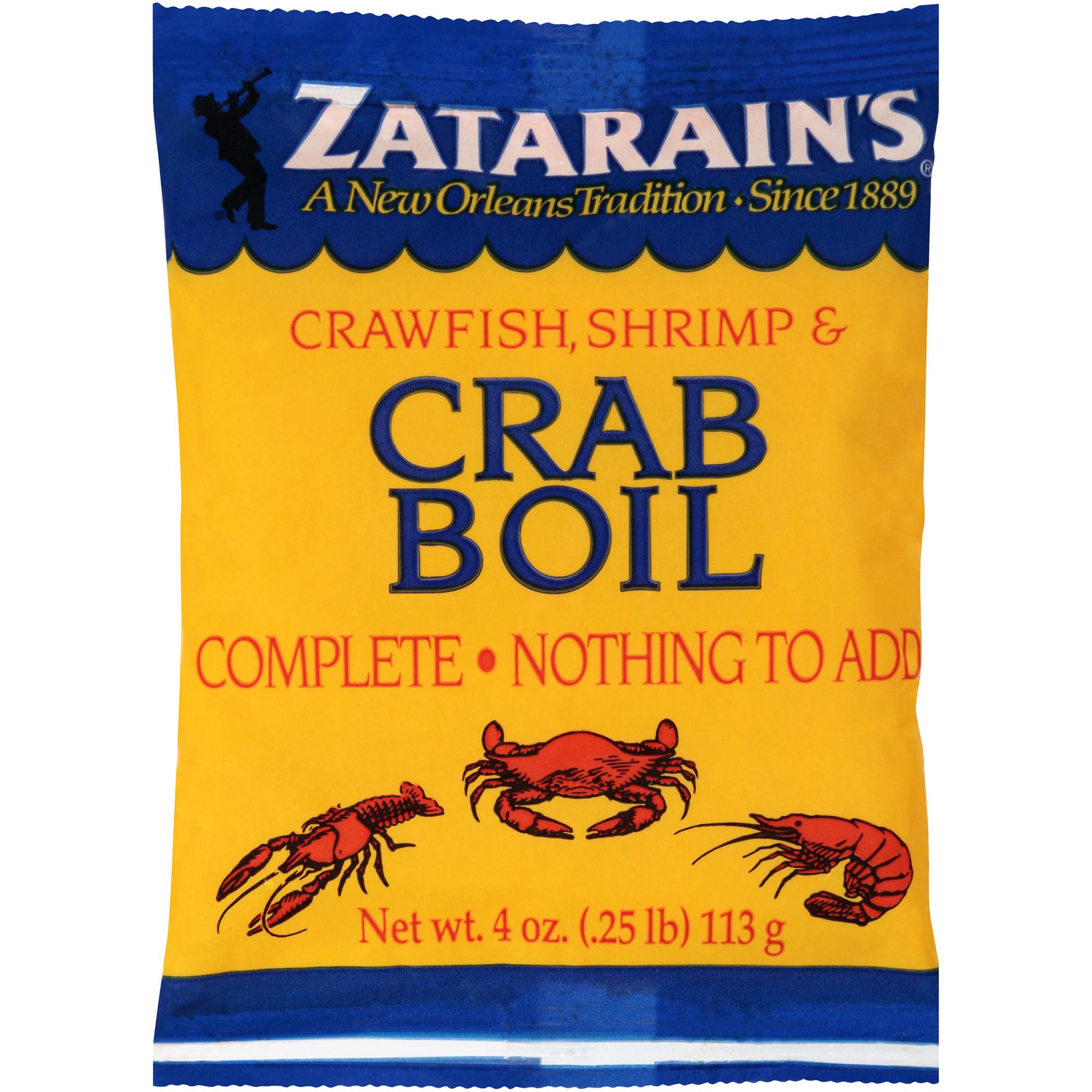 (4 Pack) Zatarain's Preseasoned Crab Boil, 4 oz