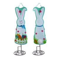 EASTER BUNNY DOOR DECOR READY TO HANG  36 INCHES