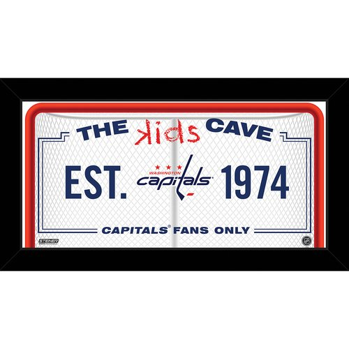 Steiner Sports Kids Cave Framed Textual Art