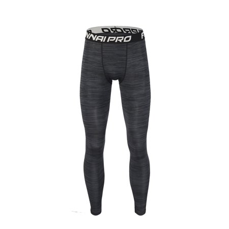 Male Quick Drying Tights Fitness Trousers Man Sweat-Free Basketball Running Training Pants Breathable Elastic Compression Sports