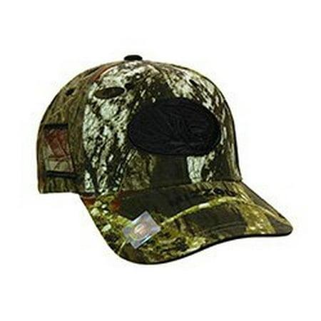 NCAA Licensed Missouri Mizzou Tigers Mossy Oak Bill Riser Baseball Hat Cap Lid