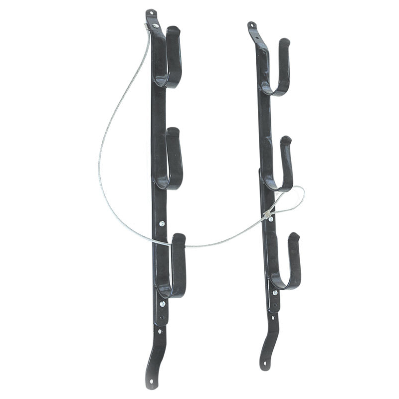 3-Gun Locking Gun Rack, Black by Allen Company