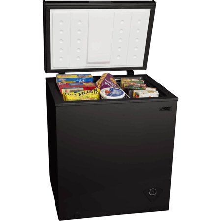 Arctic King 5 0 Cu Ft Chest Freezer  Black