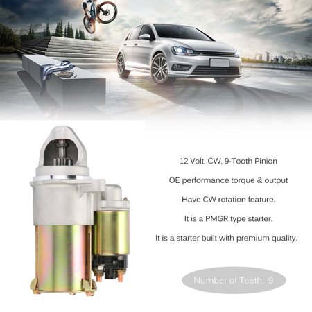 ATV Starter For CHEVROLET Auto And Light Truck For CAVALIER 2002 2.2L 134 L4 Auto High Quality Starter Motor