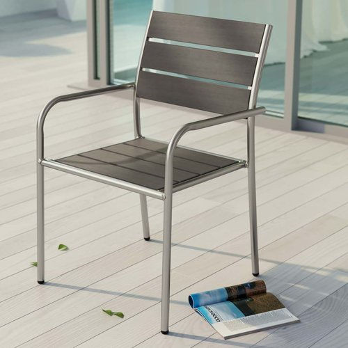 Orren Ellis Coline Stacking Patio Dining Chair