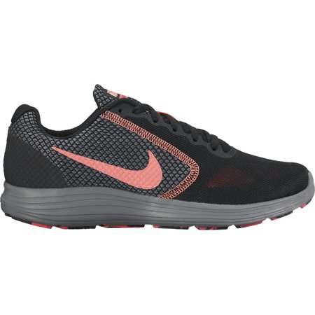 f3a347cd95ca Nike - Nike Women s Revolution 3 Running Shoe Black Lava Glow-Hot ...