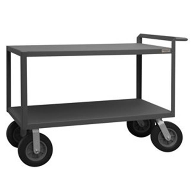 Durham RSCR244838ALD10SPN95 38 in. Rolling Service Cart, Gray - 1500 lbs