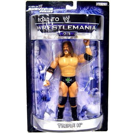 WWE Wrestling Road to WrestleMania 23 Series 2 Triple H Action
