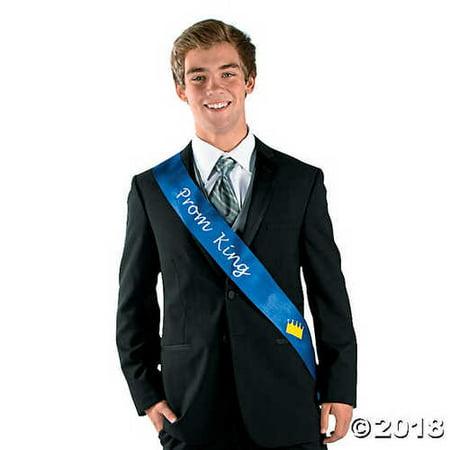 Prom King (Blue Prom King Sash)
