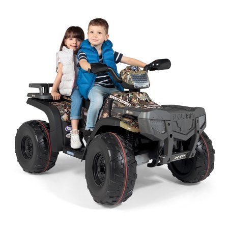 Peg Perego Polaris Sportsman 850 24 Volt Battery Powered Ride on, - Polaris Xlt Snowmobile