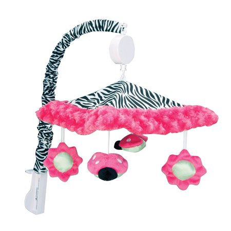 Kidsline Jungle 123 - Zahara Mobile, Musical mobile By Trend Lab