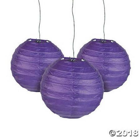 Mini Purple Hanging Paper Lanterns (Mini Paper Lanterns)