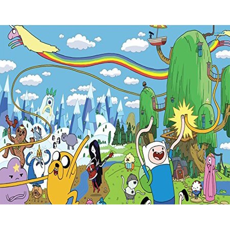 1 2 Sheet Adventuretime Edible Photo Birthday Cake Topper Frosting Personalized Party