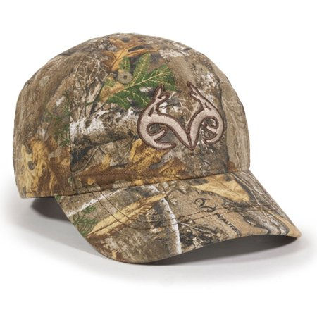 Toddler Realtree Edge Camo Buck Horn Kids Hunting Hat / Cap