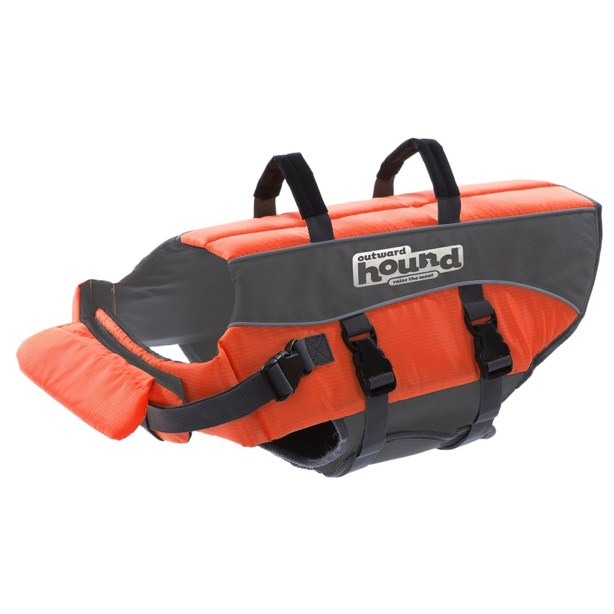 Outward Hound PupSaver Ripstop Life Jacket, Orange, Small