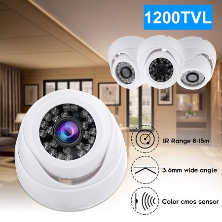 Mini Indoor HD 1200TVL CCTV Surveillance Security Camera IR Night Vision With 0.14 Inch Super Wide Angle Lens