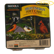 Birdola High Energy Suet Cake 11.5 oz - Pack of 10