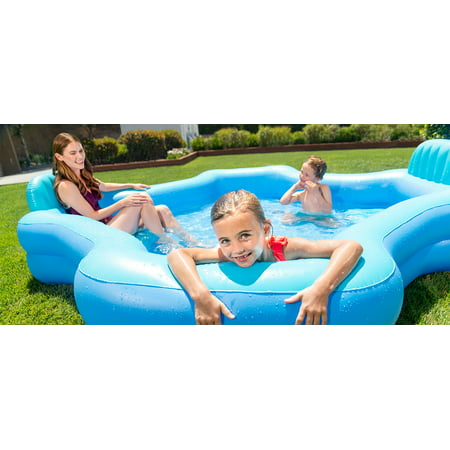 Intex Inflatable Swim Center Family Lounge - Small Blow Up Pool