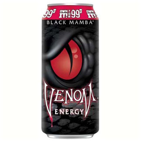 Venom Black Mamba Energy Drink Pp  99 Cents 16 Oz Cans   Pack Of 24