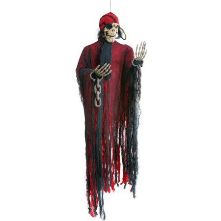 Hanging Dead Pirate Halloween Prop