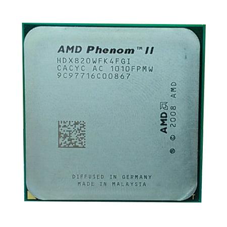 Refurbished AMD Phenom II 820 2000MHz Socket AM2+ 2.8GHz Desktop