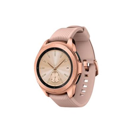 SAMSUNG Galaxy Watch - 4G LTE Smart Watch (42mm) Rose Gold -