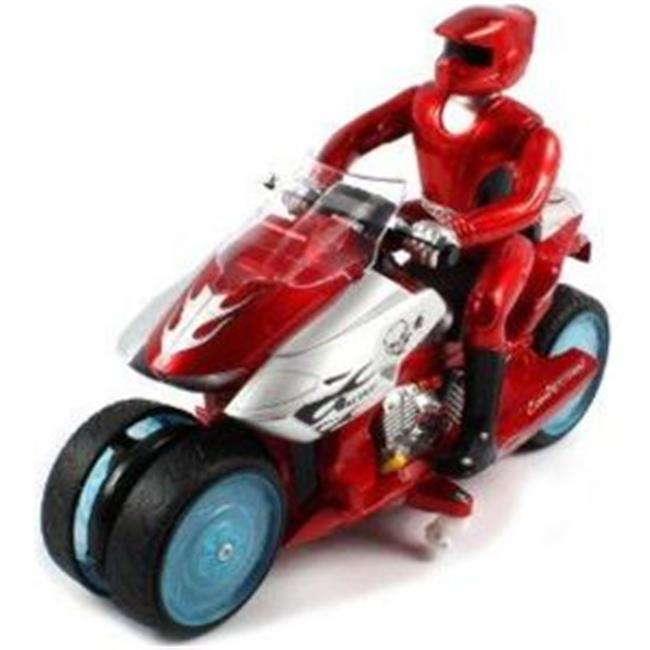 Microgear EC10410-Red Radio Controlled RC Drift Bike Electric RTR RC Motorcycle by Microgear