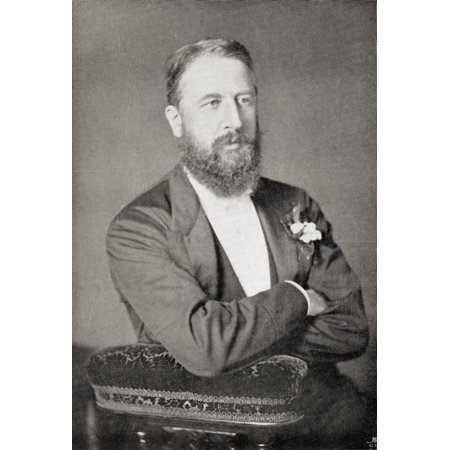 Spencer Compton Cavendish 8Th Duke Of Devonshire 1833 To1908 British Statesman And Leader Of The Liberal Party 1875  1880 From The Book Gladstone The Man And The Statesman By -