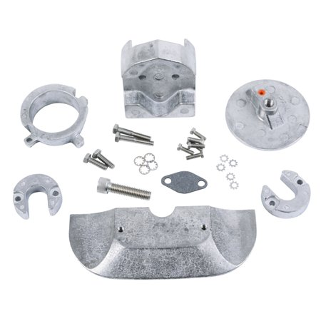 Sacrificial Zinc Anode (PERFORMANCE METAL Alpha One Generation 2 Sacrificial Anode Kit Mercury OEM# 888756A1  )